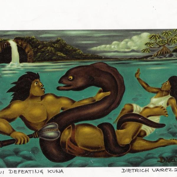 Maui Defeating Kuna C3