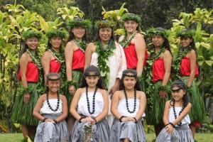 Kumu hula Iwalani Kalima with Hālau Kou Lima Nani E