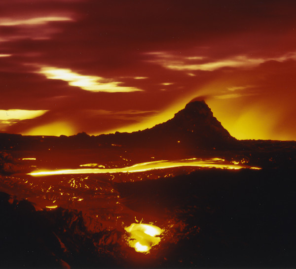 Kilauea Volcano. Hawaii Volcanoes National Park. Island of Hawaii.