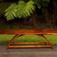 Koa Wood Table by Steve Gross