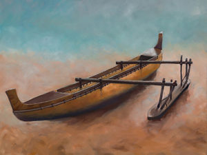 Ancient Outrigger by V.Rohner