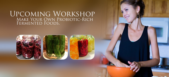 Hands-On Fermentation Class: KimChi and Pickled Veggies
