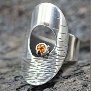 Spessanite Ring