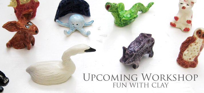 Workshop: Fun with Clay