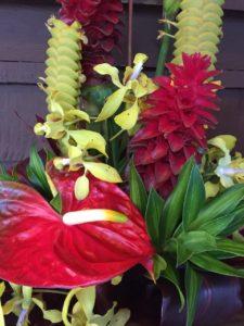 Kaipo Ah Chong Floral Arrangement