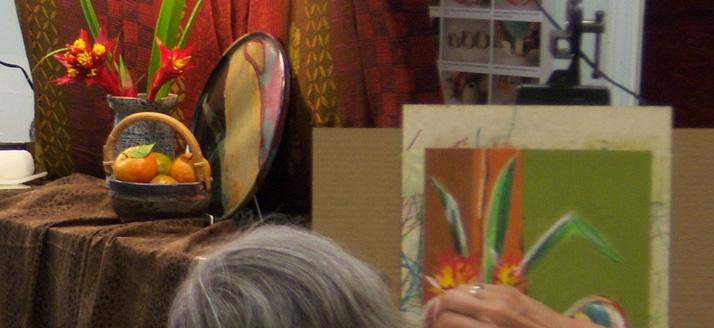 Soft Pastel Still Life Workshop at Volcano Art Center