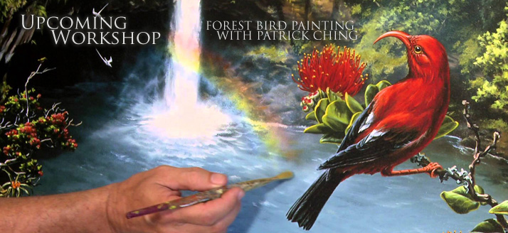 Forest Bird Painting Workshops with Patrick Ching