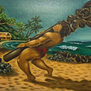 Maui Lifting The Ki`i