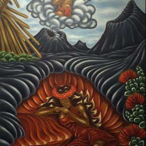 Pele's Dream Of Lohiau by Dietrich Varez