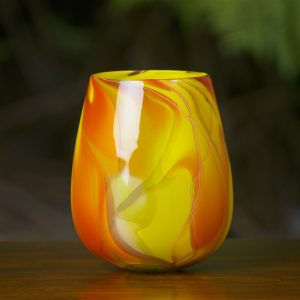 Autumn Calabash (Hand-blown Glass) Michael Mortara