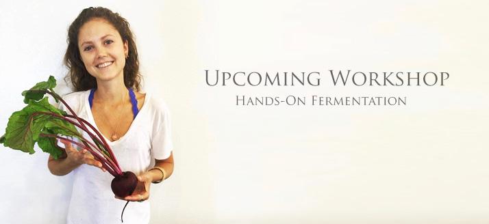 Workshop: Fermented Foods