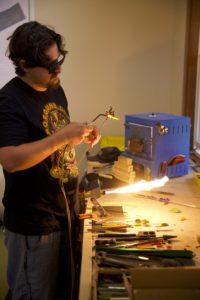 Nash Adams Pruitt flameworking