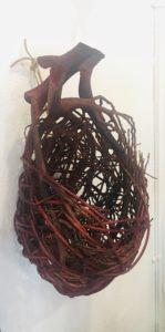 Random Weave Wall Pocket2 by Jelena Clay