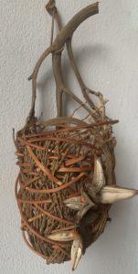Wall Basket by Jelena Clay