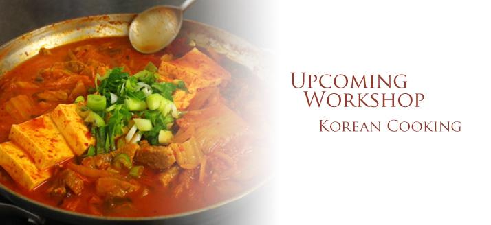 Workshop: Korean Cooking