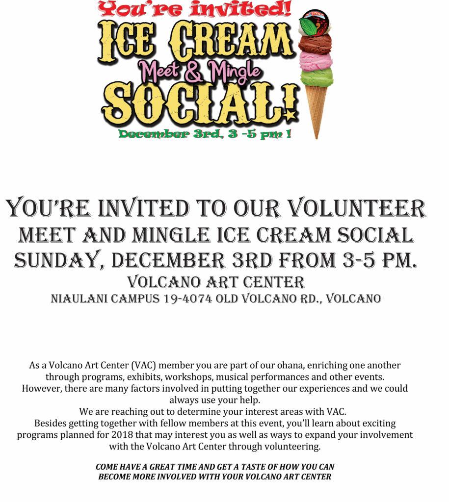 VAC Ice Cream MEET N MINGLE FLIER