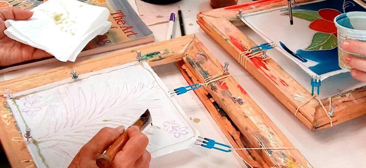 Workshop: Silk Painting with Wax Resist