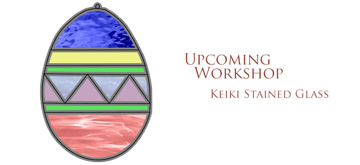 Workshop: Keiki Stained Glass – Easter Egg – CANCELED