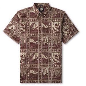Aloha Shirt Volcano Park