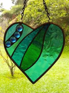 Stained Glass Basics 2 Baubles by Claudia McCall