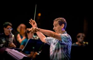 UH Hilo Jazz Orchestra's Musical Director Trever Veilleux