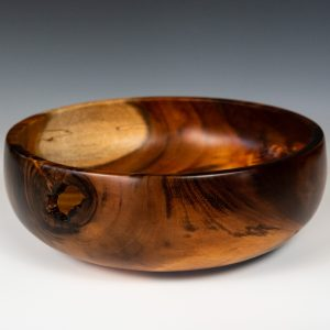 Koa Bowl w: Inclusion #2141