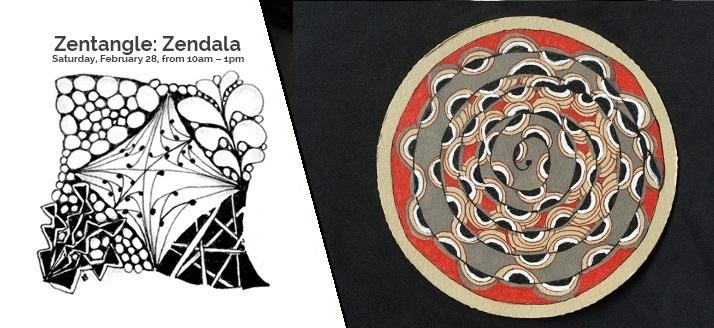 Zentangle Zendala-VAC