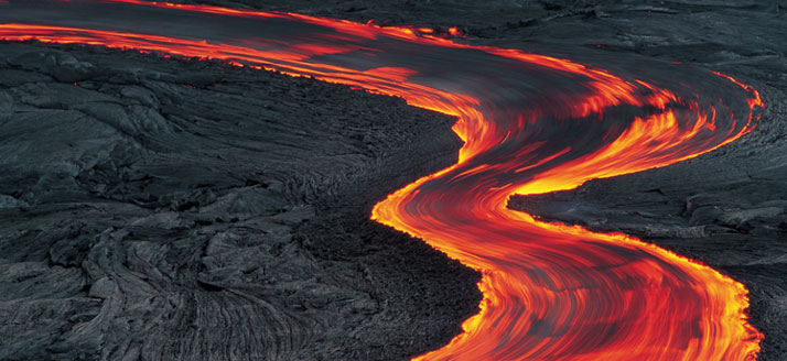 The Quest For Liquid Light: Going with the Flow in Hawaii Volcanoes National Park