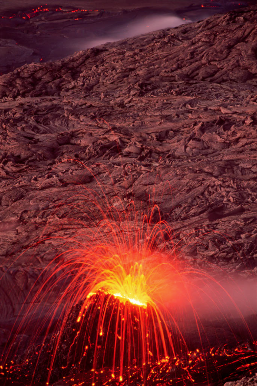 """""""Spatter Cone"""" photograph by G. Brad Lewis"""