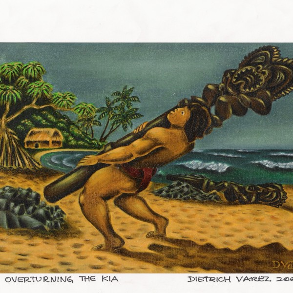 Maui Overturning the Kia C18