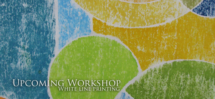 White Line Printing Workshop at Volcano Art Center