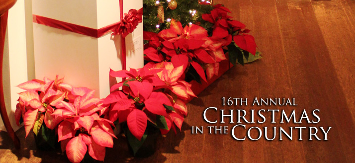 16th Annual Christmas in the Country | Annual Invitational Wreath Exhibit