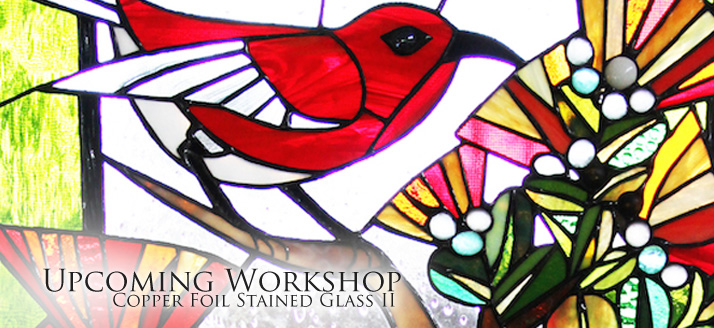 Copper Foil Stained Glass II | Volcano Art Center