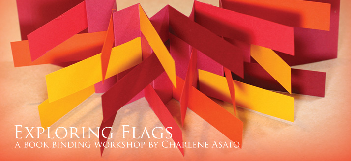 Workshop: 3D Flag Book Making with Charlene Asato