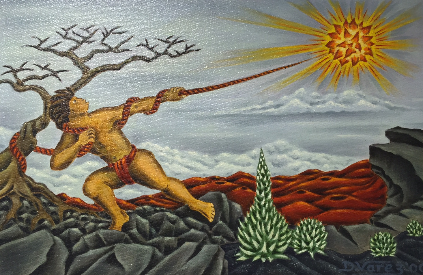 maui capturing the sun original oil painting by dietrich