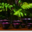 Emily Herb - Stoneware Pottery Set Of Nesting Bowls