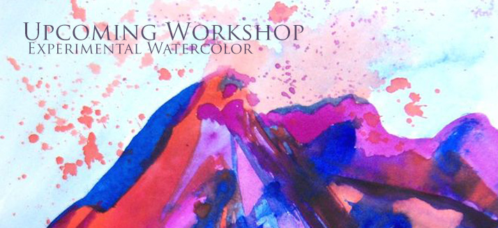 Workshop: Experimental Watercolors
