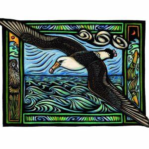 Loebel-Fried_Albatross in Flight