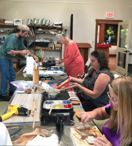 VAC encaustic Students