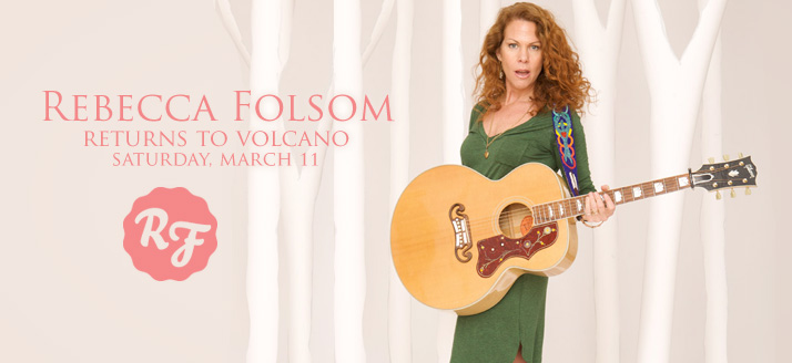Concert: Rebecca Folsom at Volcano Art Center