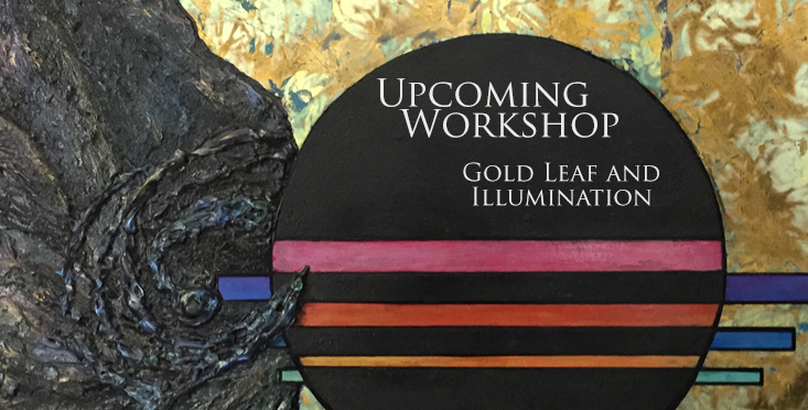 Workshop: Gold Leaf and Illumination