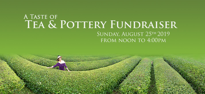 Fundraiser: A Taste of Tea & Pottery