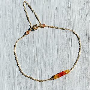 Molten Flow Sapphire Bracelet.