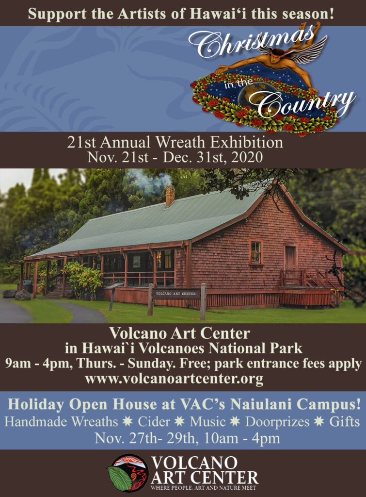 EXHIBIT: Christmas in the Country, featuring the 21st Annual Wreath Exhibition