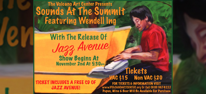 Sounds at the Summit featuring Wendell Ing
