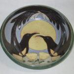 Mixed Flock ʻŌʻō Ceramic Bowl by Emily Herb