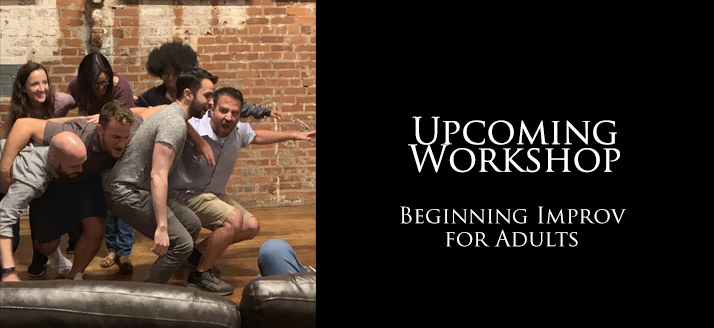 Beginning Improv for Adults at Volcano Art Center