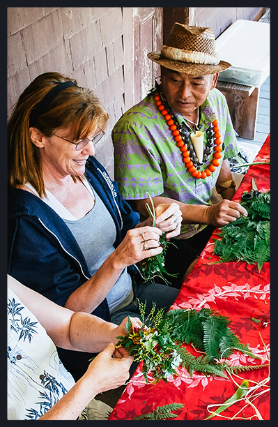 lei-making