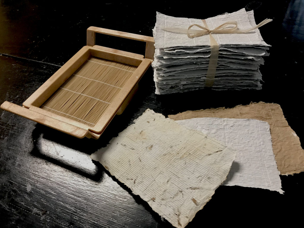 Introduction to Paper Making with Mary Milelzcik