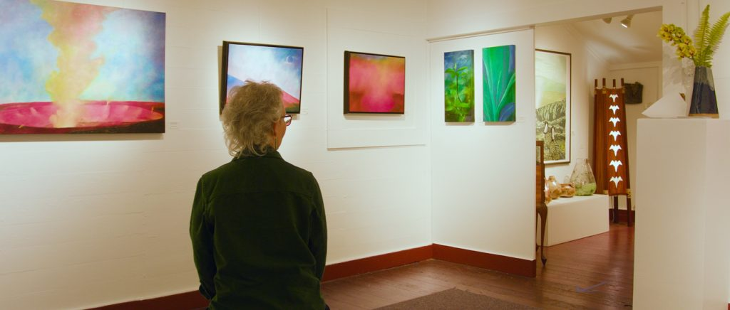 A Brush With Light: Volcanic Island Reflections By Catherine Robbins (Virtual Exhibit)